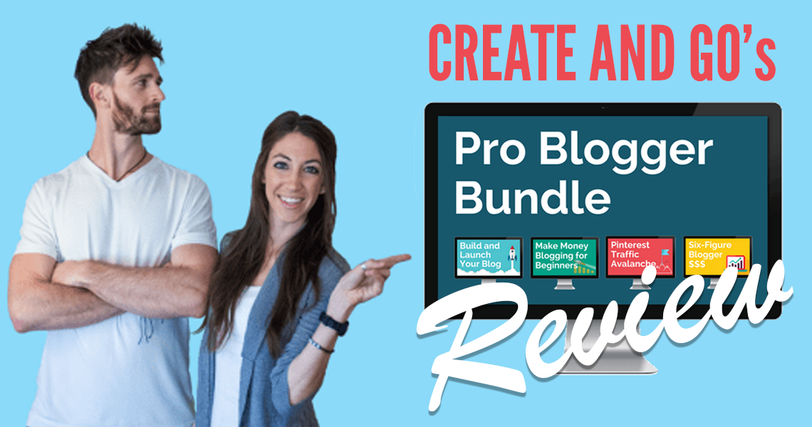 Create and Go pro blogger bundle