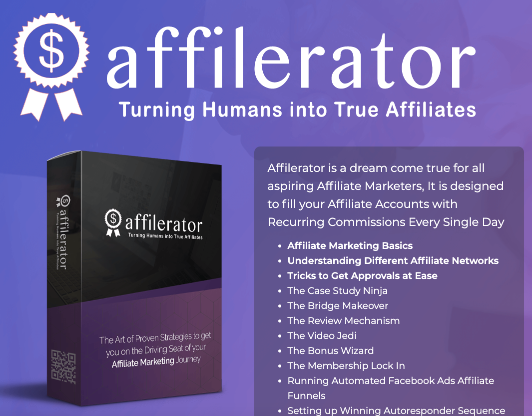 Affilerator Review – What is inside of it? [Content Revealed]
