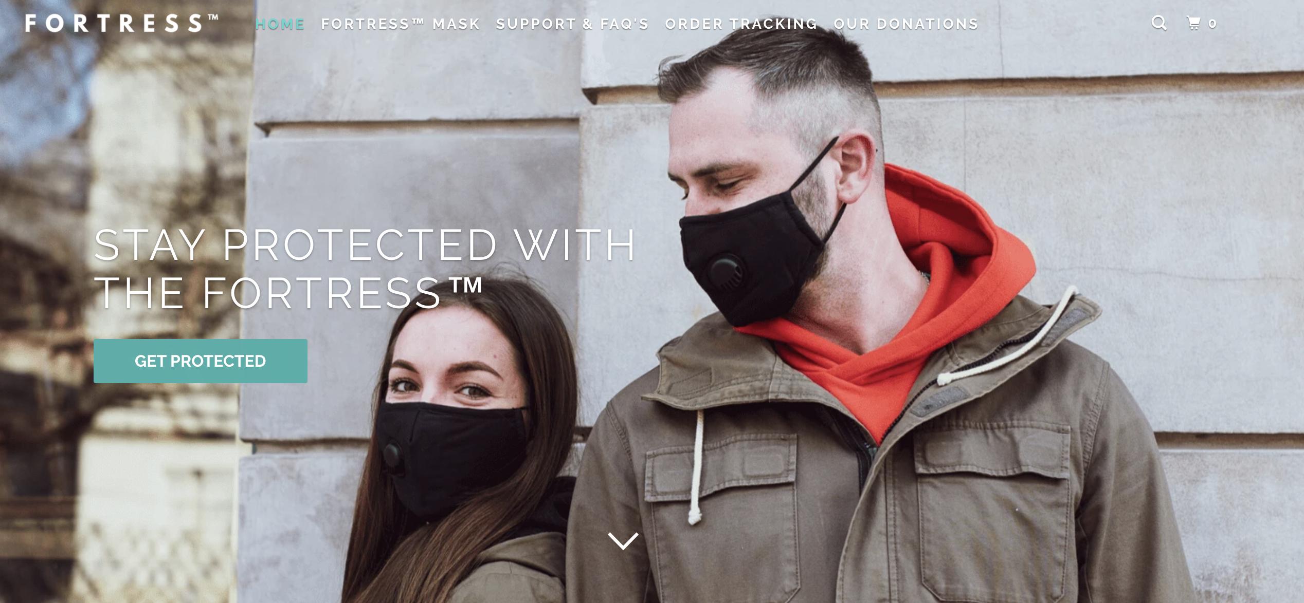 Fortressmask.com Review - Scam or Legit Mask Shop?