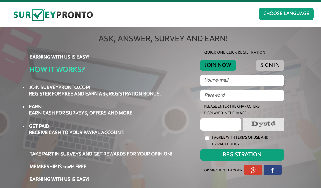 Survey Pronto Review - Scam Paid Survey Site?
