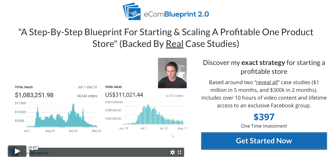 eCom Blueprint Review - Scam or Legit Dropshipping Course? [Explain]